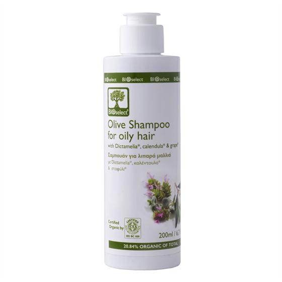 Шампунь для жирных волос  (Olive Shampoo for Oily Hair, БИОселект BIOselect Organic ) - фото 4582