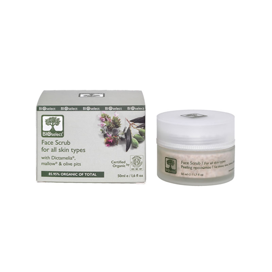 Отшелушивающий скраб для лица (Face Scrub for all skin types) BIOselect Organic (Биоселект) - фото 4644