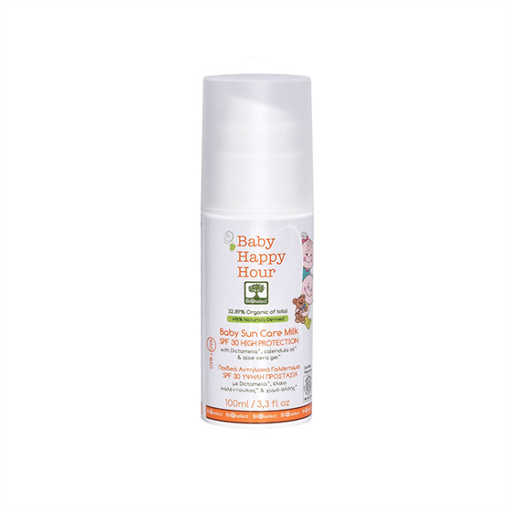 BIOselect Organic Детское защитное молочко с SPF 30 - фото 4565