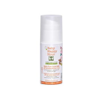 BIOselect Organic Детское защитное молочко с SPF 30