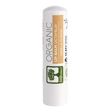 Бальзам для губ с ароматом ванили BIOselect Organic (Биоселект)