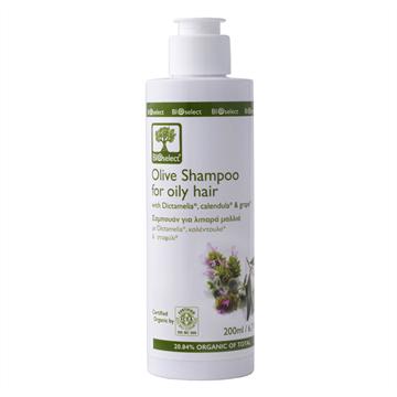 Шампунь для жирных волос  (Olive Shampoo for Oily Hair, БИОселект BIOselect Organic )